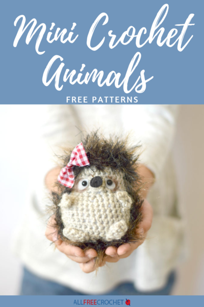 61 Mini Crochet Animals [Free Patterns