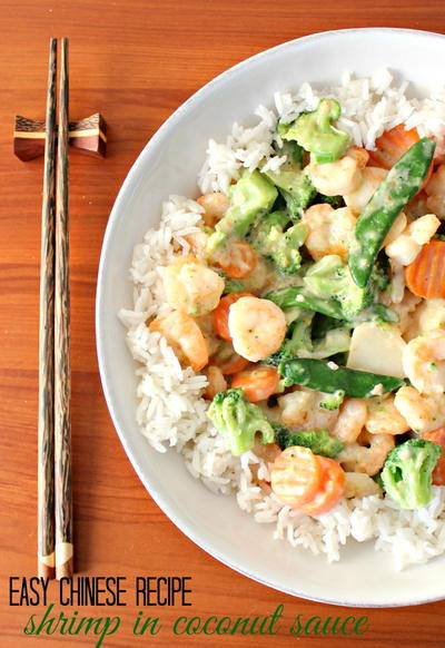 Easy Shrimp Fried Rice Recipe With Asparagus and Green Onions
