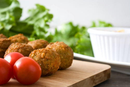 Vegan Veggie Balls In The Air Fryer