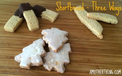 Gluten Free Shortbread  Three Ways