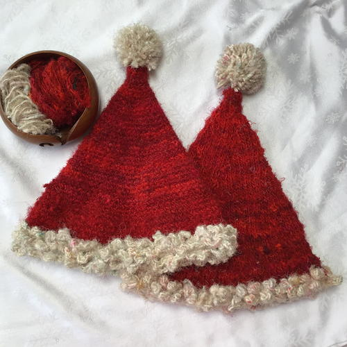 Darn Good Santa Hat Knitting and Crochet Patterns