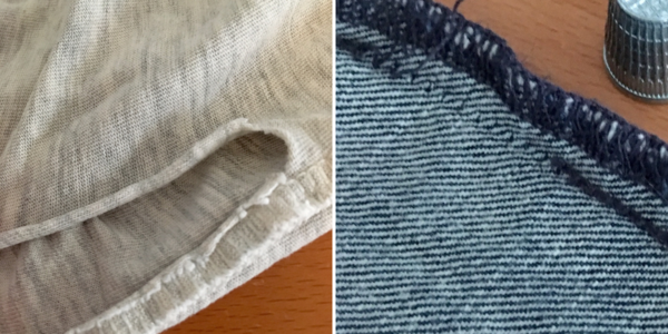 Examples of Ripped Seams