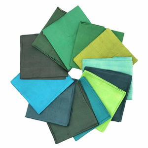 Jungle Green Silk Sari Fat Quarter Giveaway