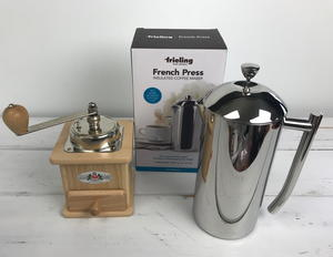 Frieling French Press and Zassenhaus Coffee Mill Giveaway