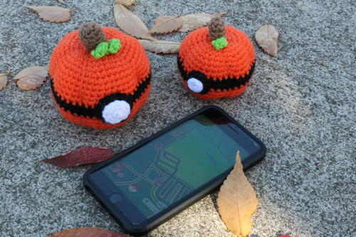 Pokeball Pumpkins