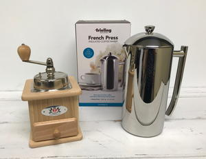 Frieling French Press and Brasilia Coffee Mill Giveaway