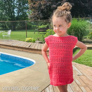Adelaide Easy Crochet Girl Dress