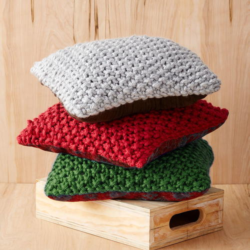 Perfect Christmas Knit Pillow Pattern