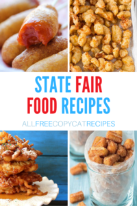 18 State Fair Food Recipes