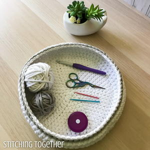The Bella Crochet Bowl