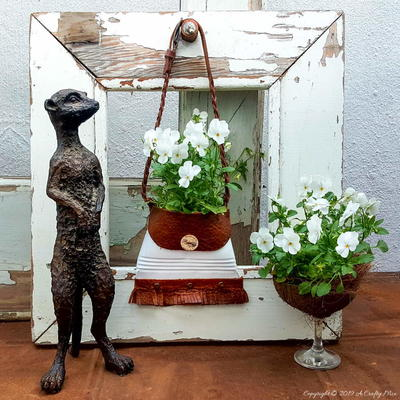 Quick and Easy Handbag Planters