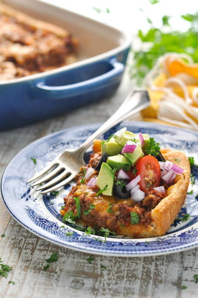 5-Ingredient Taco Casserole