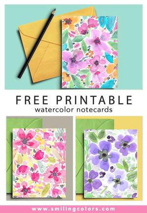 photo about Free Printable Note Cards named Free of charge Printable Be aware Playing cards