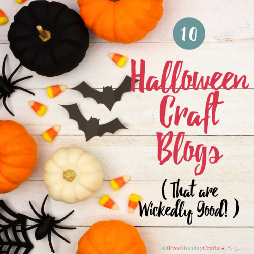 10 Halloween Craft Blogs That Are Wickedly Good