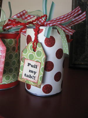 Wrapped Up Gift Can