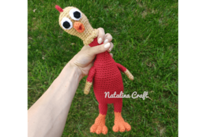 Amigurumi Rubber Chicken