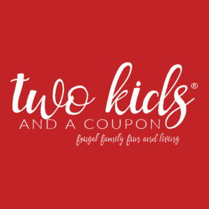 Two Kids and a Coupon logo