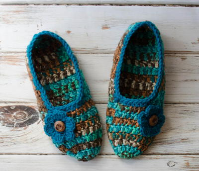 Not-Your-Grandmas Crochet Slippers