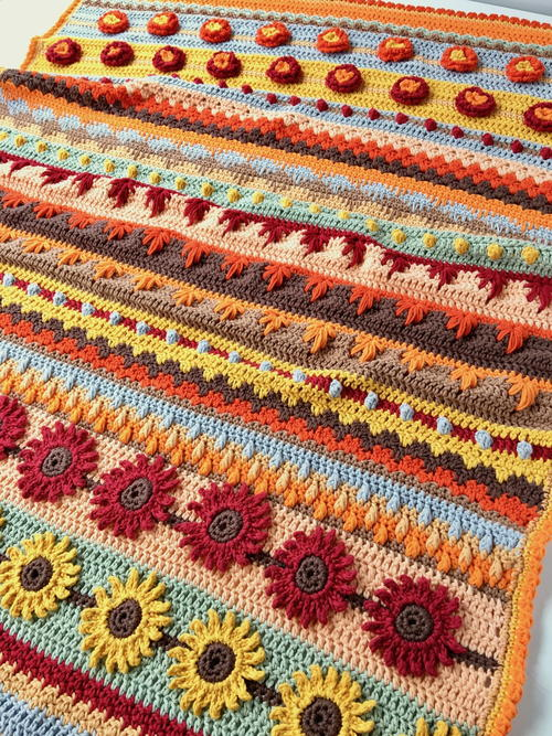 Autumn Rhapsody Blanket