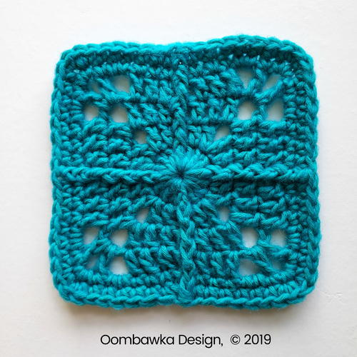 Sweet and Simple Afghan Square