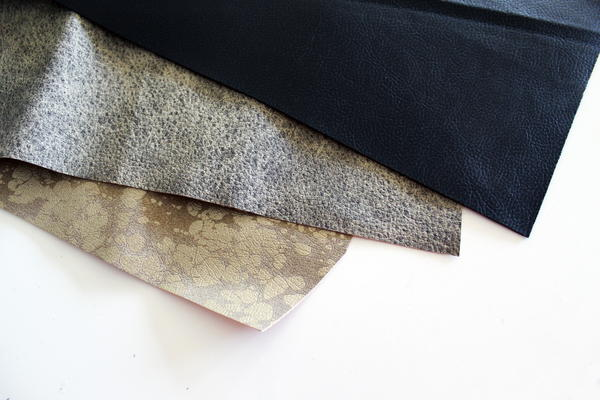 Example of artificial leather.