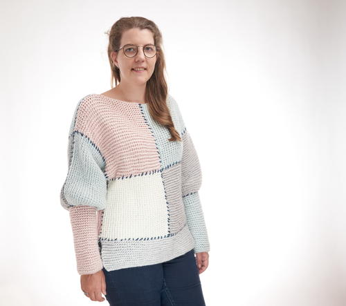 Darling Block Sweater