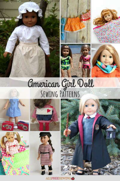 30 American Girl Doll Sewing Patterns