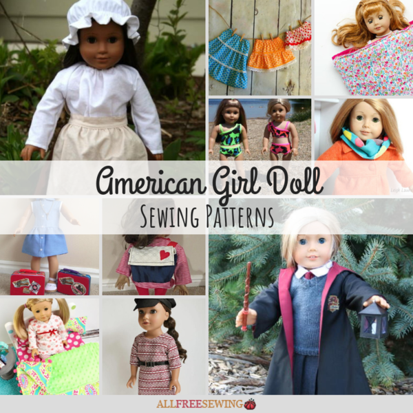 30+ American Girl Doll Sewing Patterns