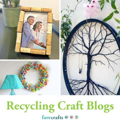 Our 10 Best Recycling Craft Blogs
