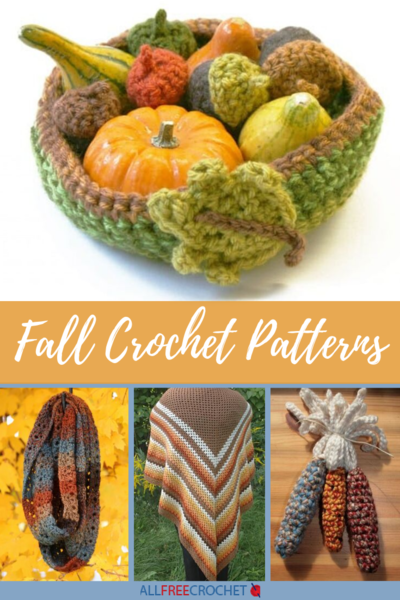 21 Fall Crochet Patterns
