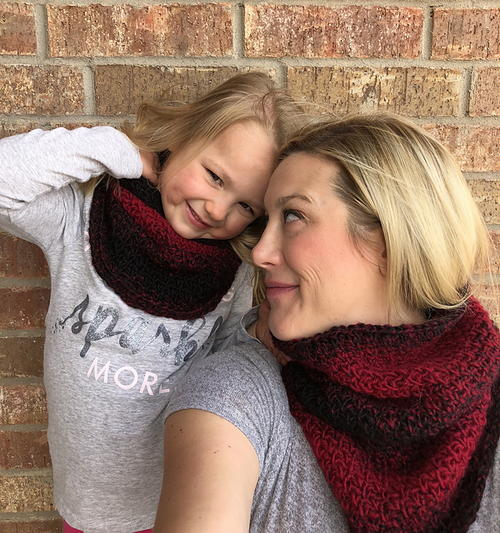 Armonk Mommy and Me Cowl Set