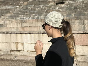Norwalk Pony Tail Key Hole Hat