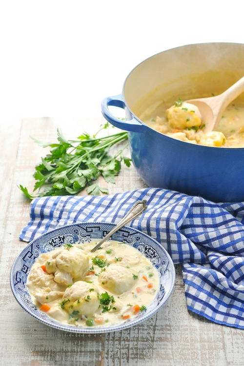 Farmhouse Chicken and Bisquick Dumplings