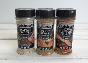 Cuisinart Grilling Seasoning Set Giveaway