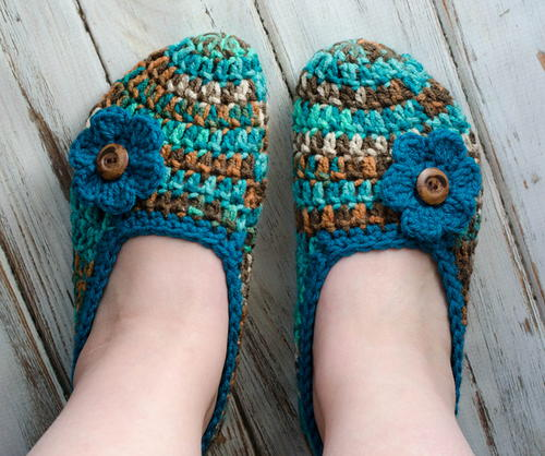 Not Your Grandmas Crochet Slippers