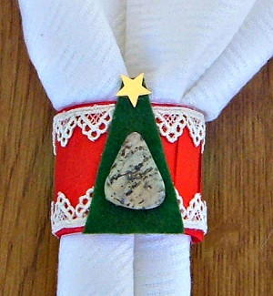 Easy Christmas Napkin Ring