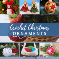 35+ Crochet Christmas Ornaments