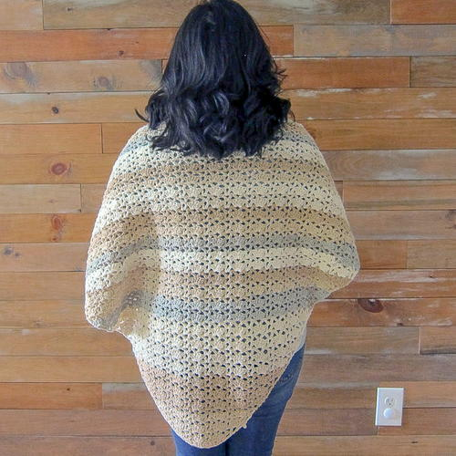 The Reverie Triangle Shawl