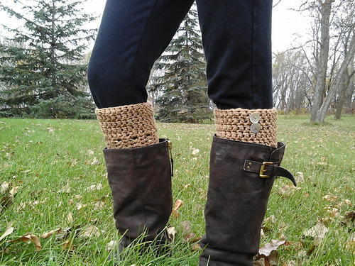 Ava Boot Cuffs Crochet Pattern