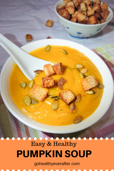 Easy  Healthy Pumpkin Soup