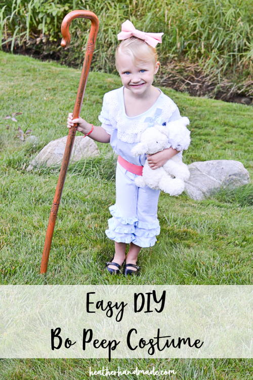 DIY Bo Peep Costume