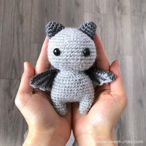 Sir Batwington the Brave Amigurumi Bat Doll