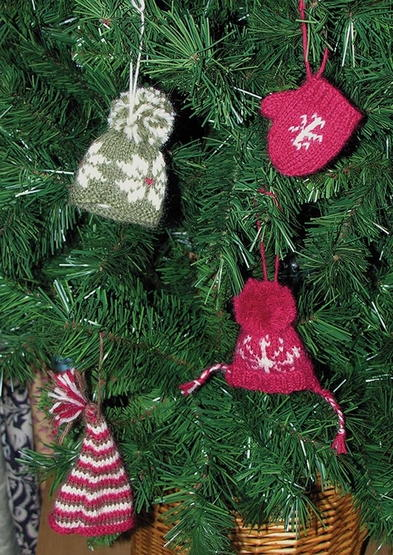 Winter Warmers Christmas Ornaments