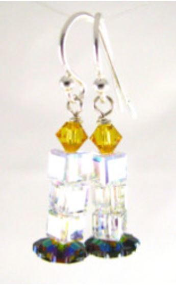 Luminous Beaded Earrings