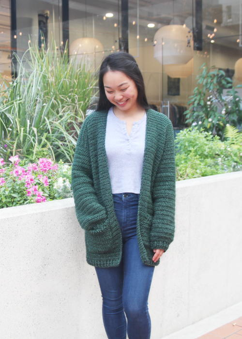 Briar Oversized Pocket Cardigan