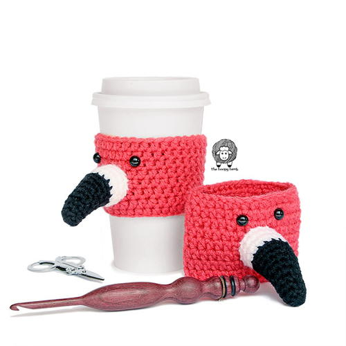 Flamin-To-Go Flamingo Cup Cozy