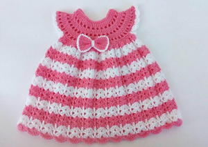 Crochet Baby Dress Free Pattern