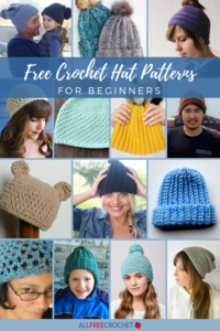 50+ Free Crochet Hat Patterns for Beginners