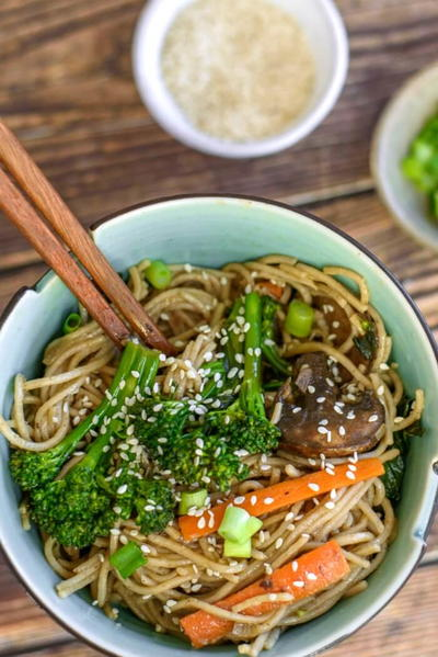 Vegetable Stir Fry Noodles