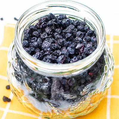 Dehydrated Blueberries